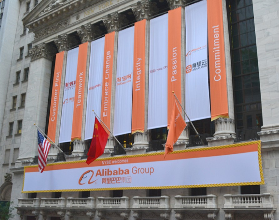 Alibaba valued at $230bn following historic IPO