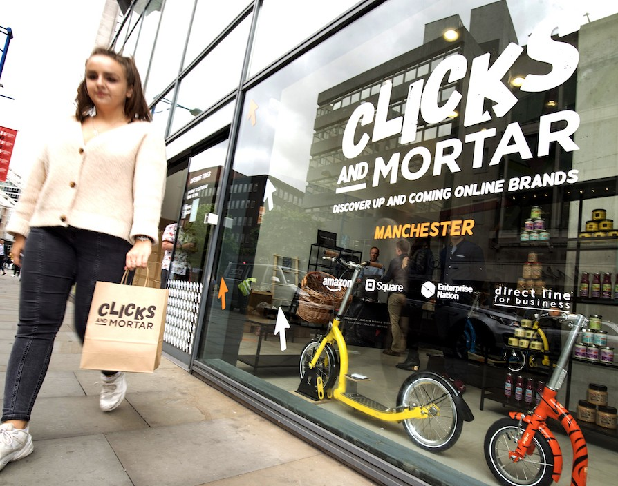 Amazon blends online and physical retail with ten Clicks and Mortar pop-up stores