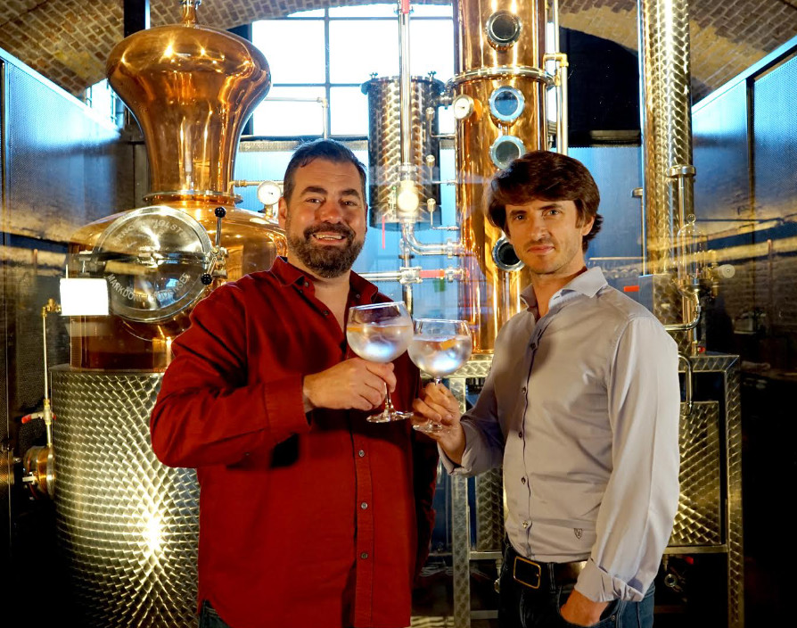 An at-home drinking experience: Founders of Craft Gin Club, Jon Hulme and John Burke