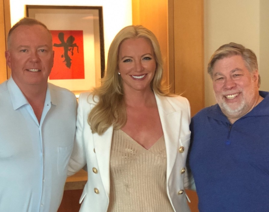 Apple founder Steve Wozniak joins Michelle Mone's VC disruptor