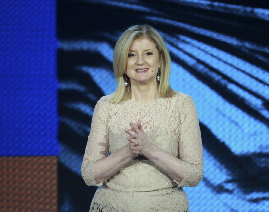 Arianna Huffington leaves The Huff Post to focus on her startup