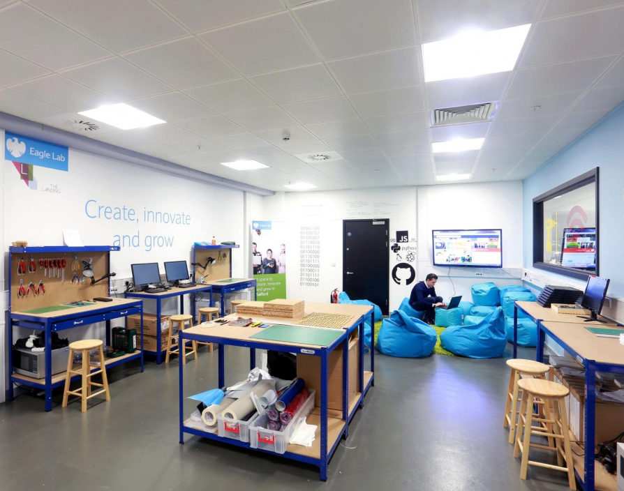 Barclays oils Northern Powerhouse cogs with Manchester entrepreneurship lab