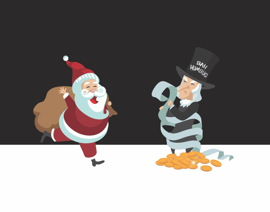 Be a Santa not a Scrooge: Show your staff what they mean this Christmas