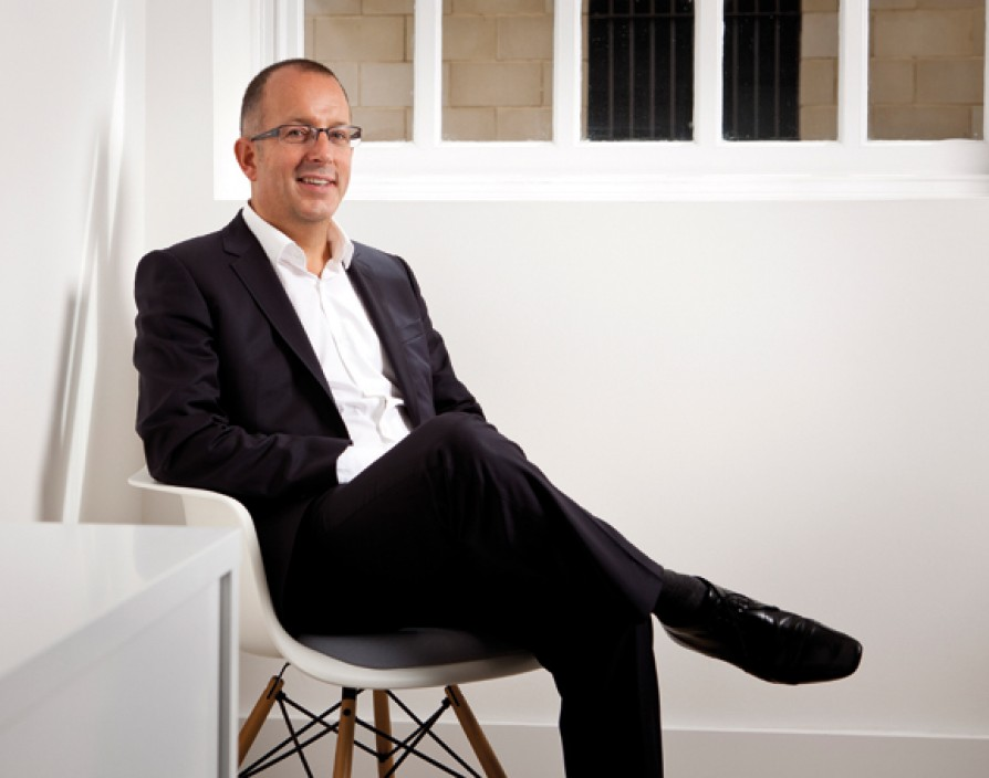 Clive Lucking is revolutionising office design with Fourfront Group