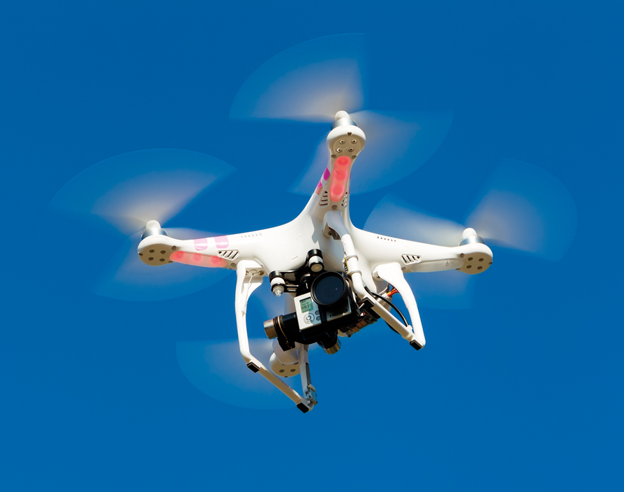 Drones can help startups build a brighter future