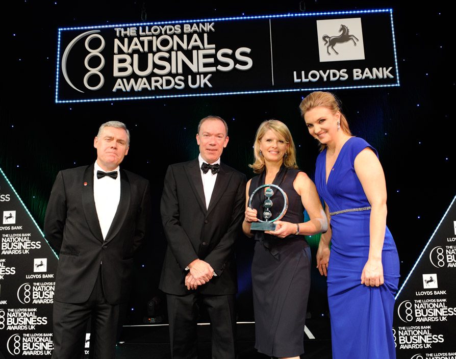 EasyJet's Carolyn McCall wins top award at National Business Awards