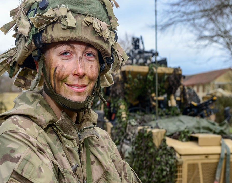 Ex-female soldiers asked if they can act feminine during