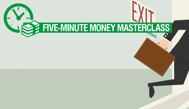 Five-minute money masterclass: engineering an exit