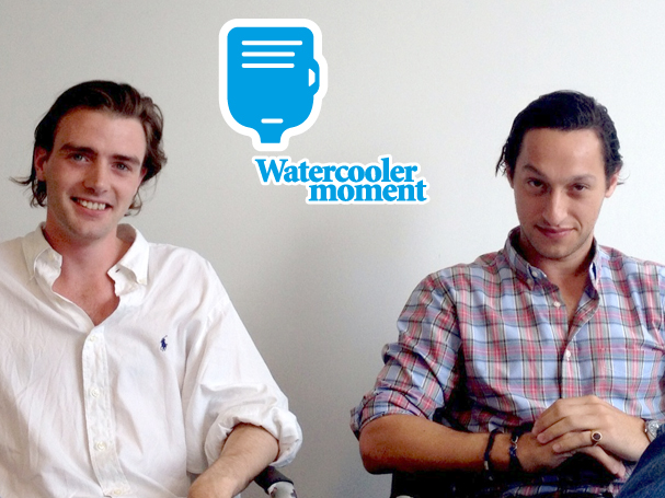 A watercooler moment with... Hamish Brocklebank and Nicolas Philippe
