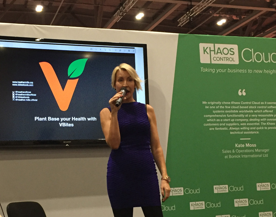 Heather Mills: There's no shortcut to make a good business – work your backside off