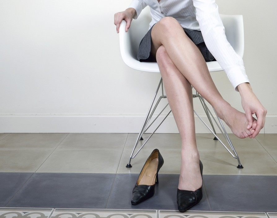 High heels row: the government has rejected calls to ban sexist dress codes