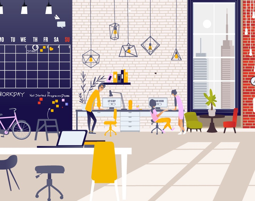How can SMEs benefit from a flexible workspace environment?