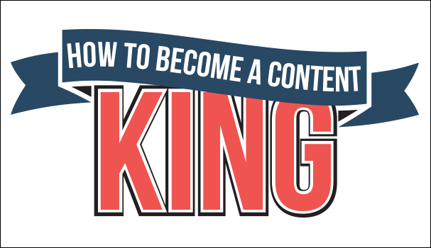 Content is king when driving traffic to your website
