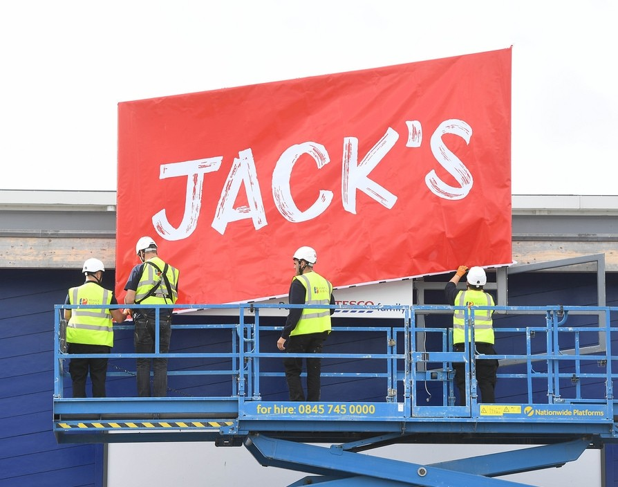 In the loop: Tesco launched the new brand Jack's, HSBC unveiled its