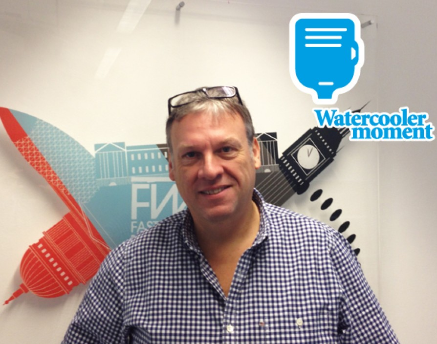 A watercooler moment with... Mike Flynn
