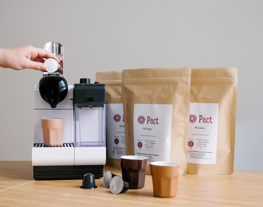 Pact Coffee launches Kickstarter campaign to create coffee pods