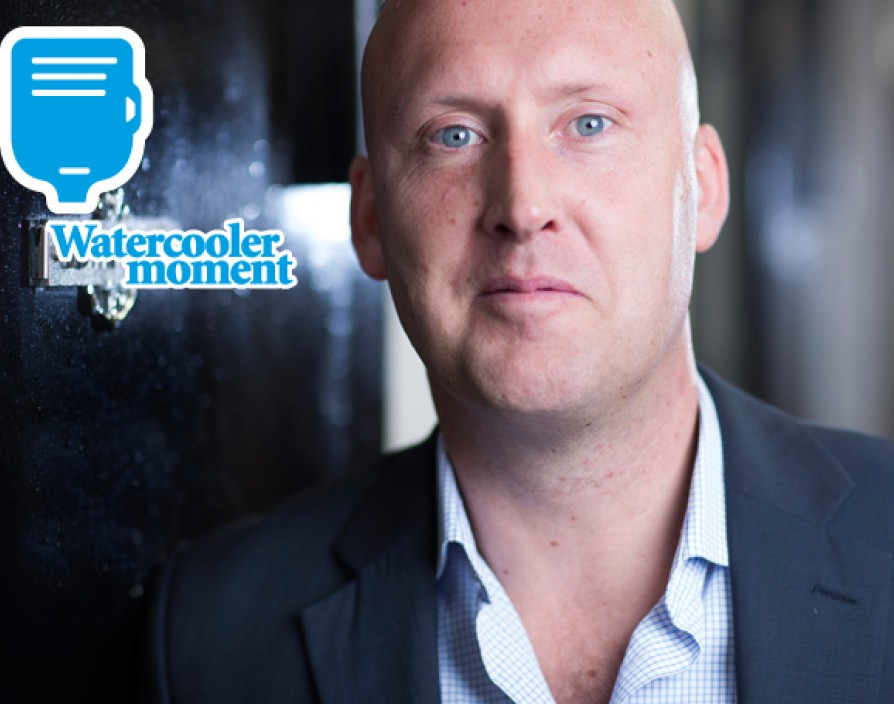A watercooler moment with… Paul Aitken