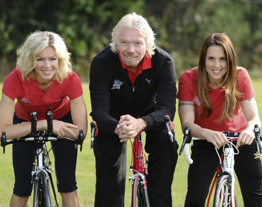 Sir Richard Branson launches his latest venture Virgin Sport