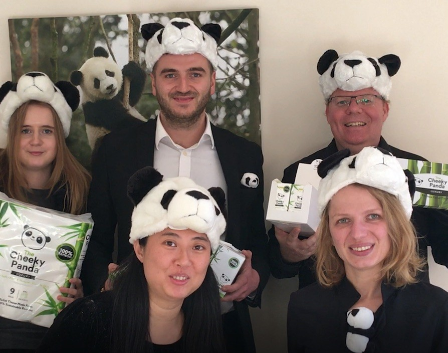Taking inspiration from China, toilet tissue maker The Cheeky Panda is on a roll