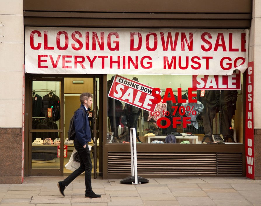 UK high-street crisis hits more stores and vacancy rates are the highest in four years
