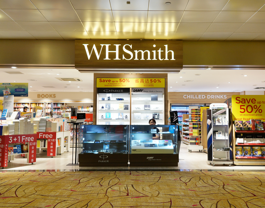 WHSmith scales retail presence with expansion into Singapore