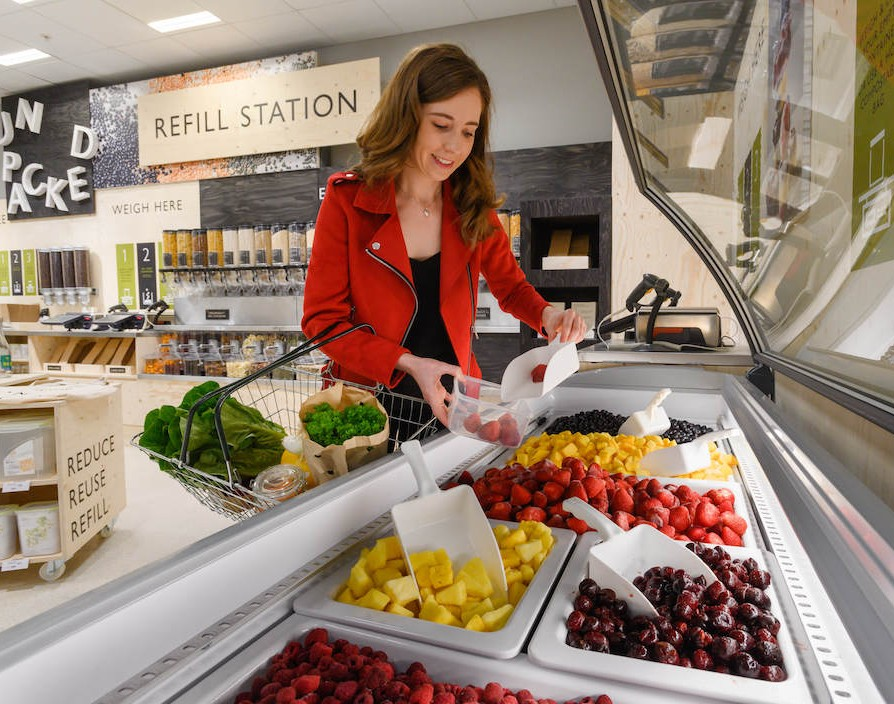 Waitrose launches a trial to reduce unnecessary plastic packaging
