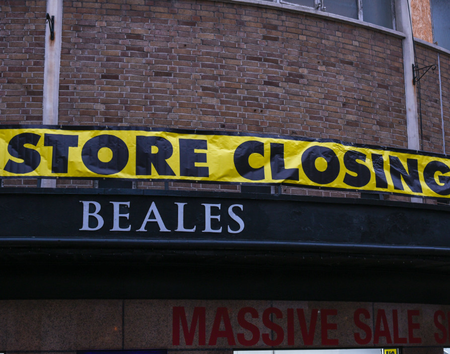 Beales shuts 12 stores leaving almost 500 jobs at risk: