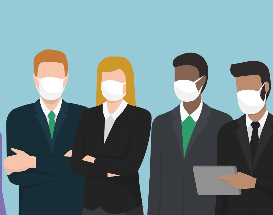 Business should lead on face coverings