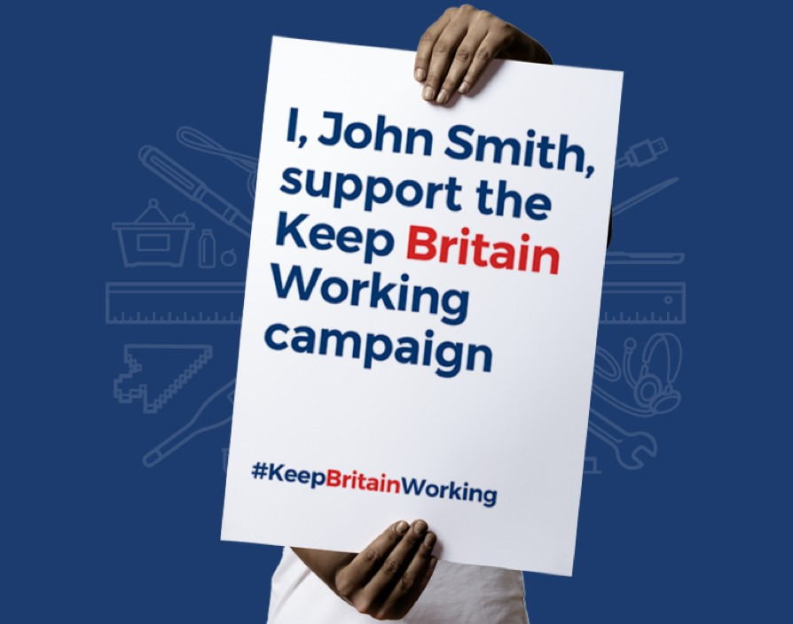 """Keep Britain Working"" campaign launched to help people get back into jobs and keep UK's economy afloat during coronavirus pandemic"