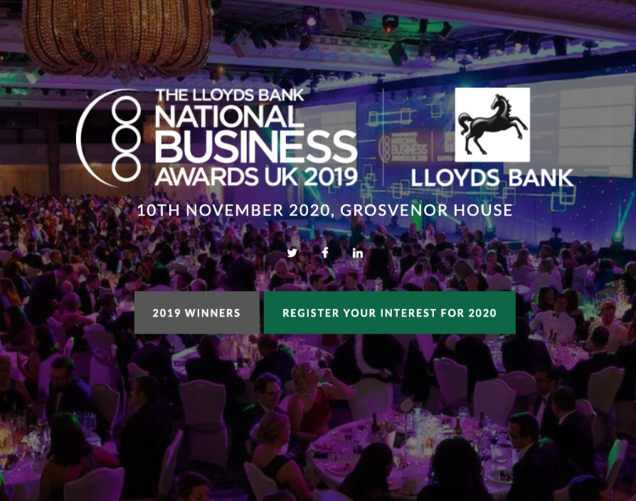 UK's top businesses honoured in glitzy gala event for the Lloyds Bank National Business Awards
