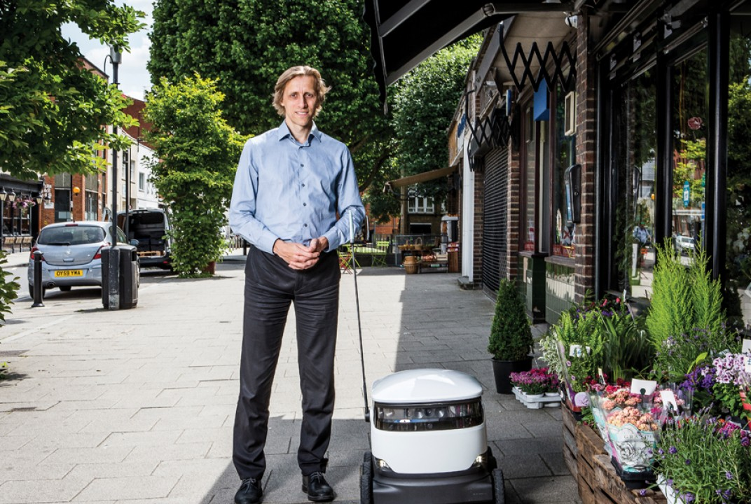 Street smarts- how Ahti Heinla's Starship Technologies is revolutionising deliveries with robots - EliteBusinessMagazine